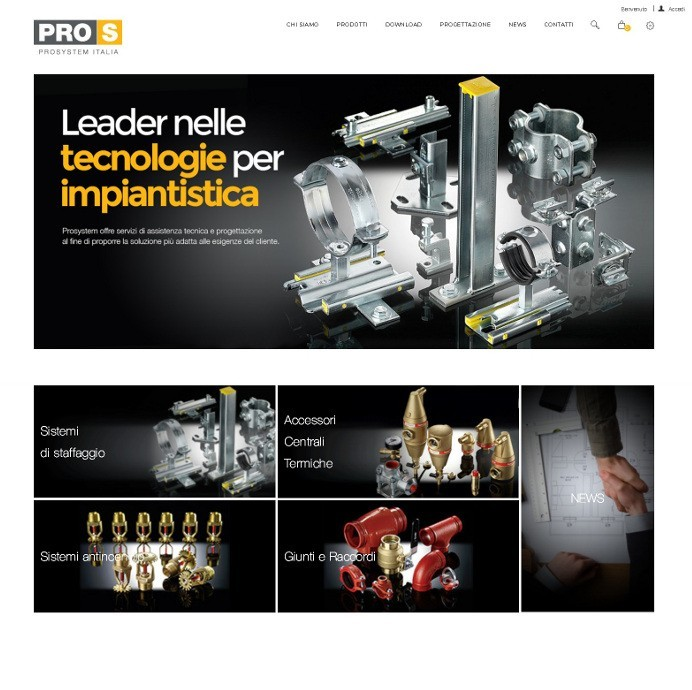 NEW PROSYSTEM ITALIA WEBSITE