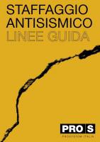 Staffaggio Antisismico - Linee Guide